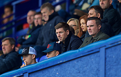 BIRKENHEAD, ENGLAND - Sunday, September 10, 2017: Liverpool's Under-18 manager Steven Gerrard during the Under-23 FA Premier League 2 Division 1 match between Liverpool and Manchester City at Prenton Park. (Pic by David Rawcliffe/Propaganda)