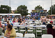 A view of Breese Stevents Field during the  4th annual Yum Yum Fest, Sunday, August 6, 2017.