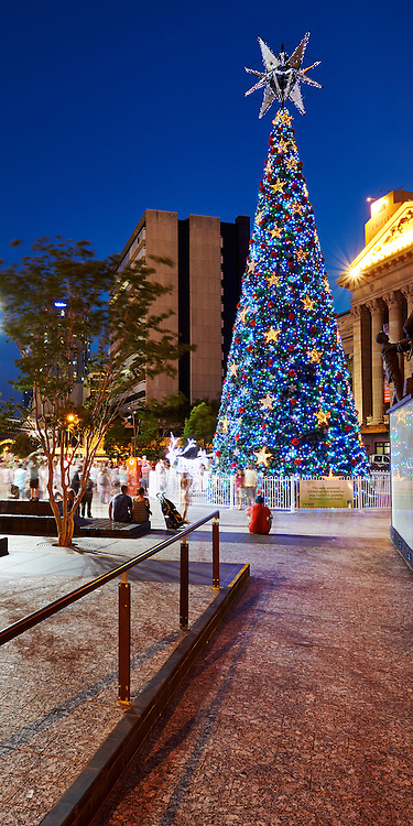Christmas in the city of Brisbane, Australia
