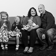 SOPHIE, STEPHAN AND CHILDREN, FAMILY PORTRAITS, FEB 2015