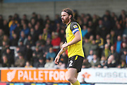 Burton Albion defender John Brayford (2) during the EFL Sky Bet League 1 match between Burton Albion and Luton Town at the Pirelli Stadium, Burton upon Trent, England on 27 April 2019.
