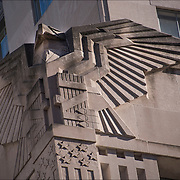 One of four Art Deco Eagles top side counters of Federal Building in lower Manhattan. the  symbol of United States of America.
