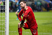 Bolton Wanderers goalkeeper Remi Matthews looks dejected after conceding a goal  during the EFL Sky Bet League 1 match between Bolton Wanderers and Wycombe Wanderers at the University of  Bolton Stadium, Bolton, England on 15 February 2020.