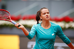 May 8, 2019 - Madrid, MADRID, SPAIN - Viktoria Kuzmova (SVK) during the Mutua Madrid Open 2019 (ATP Masters 1000 and WTA Premier) tenis tournament at Caja Magica in Madrid, Spain, on May 08, 2019. (Credit Image: © AFP7 via ZUMA Wire)