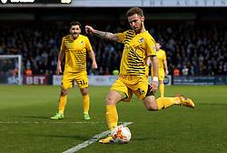 Matt Taylor of Bristol Rovers crosses the ball - Mandatory by-line: Robbie Stephenson/JMP - 19/04/2016 - FOOTBALL - Lamex Stadium - Stevenage, England - Stevenage v Bristol Rovers - Sky Bet League Two