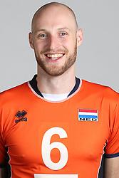 20160516 NED: Selectie Nederlands volleybal team mannen, Arnhem<br />Jasper Diefenbach