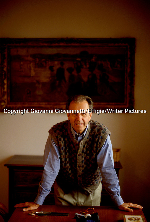Gianni Clerici<br /> <br /> <br /> 08/10/2004<br /> Copyright Giovanni Giovannetti/Effigie/Writer Pictures<br /> NO ITALY, NO AGENCY SALES