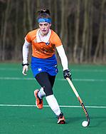 BLOEMENDAAL - Sophie Schlatmann (Bldaal)   hoofdklasse competitie dames, Bloemendaal-Nijmegen (1-1) COPYRIGHT KOEN SUYK