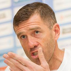 20130527: SLO, Football - Press conference of Srecko Katanec and Slovenian National football team