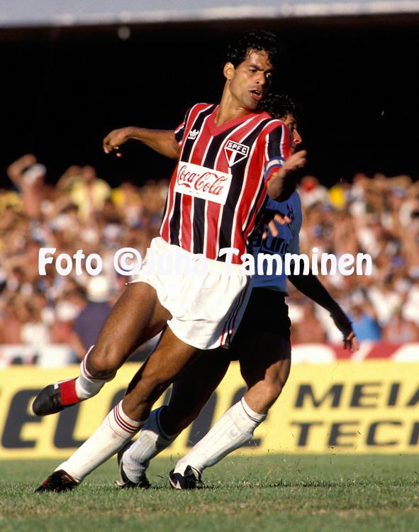 16.12.1990, Morumbi, Sao Paulo, Brasil. <br /> Rai - Sao Paulo FC