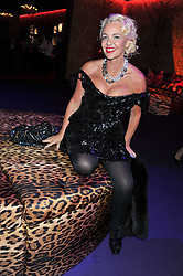 AMANDA ELIASCH at a party hosted by Roberto Cavalli to celebrate his new Boutique's opening at 22 Sloane Street, London followed by a party at Battersea Power Station, London SW8 on 17th September 2011.