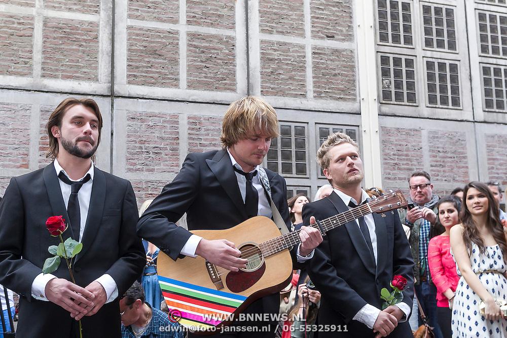 NLD/Amsterdam/20130506 -  Boekpresentatie 'De hartsvriendin' van Heleen van Royen,