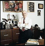 portrait of David Rush, inventor.