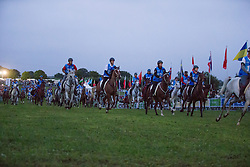 Start of the endurance - Endurance - Alltech FEI World Equestrian Games™ 2014 - Normandy, France.<br /> © Hippo Foto Team - Dirk Caremans<br /> 25/06/14