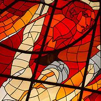 TOLUCA, Mexico.- Vitrales del Jardin Botanico del Cosmovitral creado por el artista plastico Leopoldo Flores en lo que fuera el mercado 16 de septiembre. Agencia MVT / Mario Vazquez de la Torre.