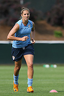 25 April 2008: Carli Lloyd. The United States Women's National Team held a training session in WakeMed Stadium, formerly SAS Stadium, in Cary, NC.