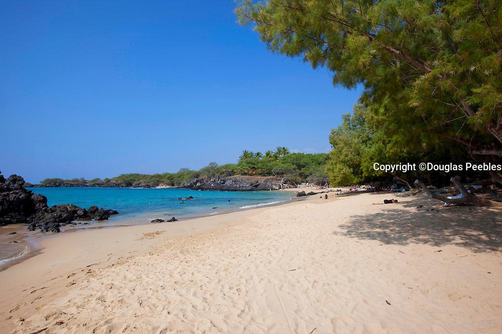 Wailea Bay and beach, Puako, Kohala, Island of Hawaii