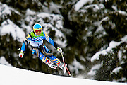 Patrick Jaerbyn of Sweden competes in the Alpine skiing Men's Downhill at Whistler Creekside during the Vancouver 2010 Winter Olympics on February 15, 2010 in Whistler, Canada.