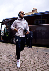 LONDON, ENGLAND - Sunday, March 17, 2019: Fulham's Jean Michaël Seri arrives during the FA Premier League match between Fulham FC and Liverpool FC at Craven Cottage. (Pic by David Rawcliffe/Propaganda)