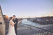 Alexandra & Alastair's Beautiful March Wedding