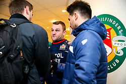 Bristol Rugby Assistant Coach Conor McPhillips is interviewed - Rogan/JMP - 10/02/2018 - RUGBY UNION - Trailfinders Sports Ground - Ealing Trailfinders v Bristol Rugby - Greene King IPA Championship.
