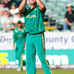 08/09/2012 Durham, England. Jacques Kallis catches the ball during the 1st Nat West t20 cricket match between  England and South Africa and played at Emirate Riverside Cricket Ground: Mandatory credit: Mitchell Gunn