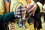 20180903/ Nicolas Celaya - adhocFOTOS/ URUGUAY/ MONTEVIDEO/ FACULTAD INGENIERIA/ Campeonato uruguayo de sumo rob&oacute;tico Sumo.UY en la Facultad de Ingenier&iacute;a, Montevideo.<br /> En la foto: Campeonato uruguayo de sumo rob&oacute;tico Sumo.UY en la Facultad de Ingenier&iacute;a, Montevideo. Foto: Nicol&aacute;s Celaya /adhocFOTOS