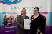 Amy McDonagh who received a FETAC level 2 Certificate in Health related exercise from Minister of State for Training & Skillsat the department of Education and Science Ciaran Cannon TD at the National Learning Network, Galway Certification Ceremony at the Menlo Park Hotel. Photo:Andrew Downes