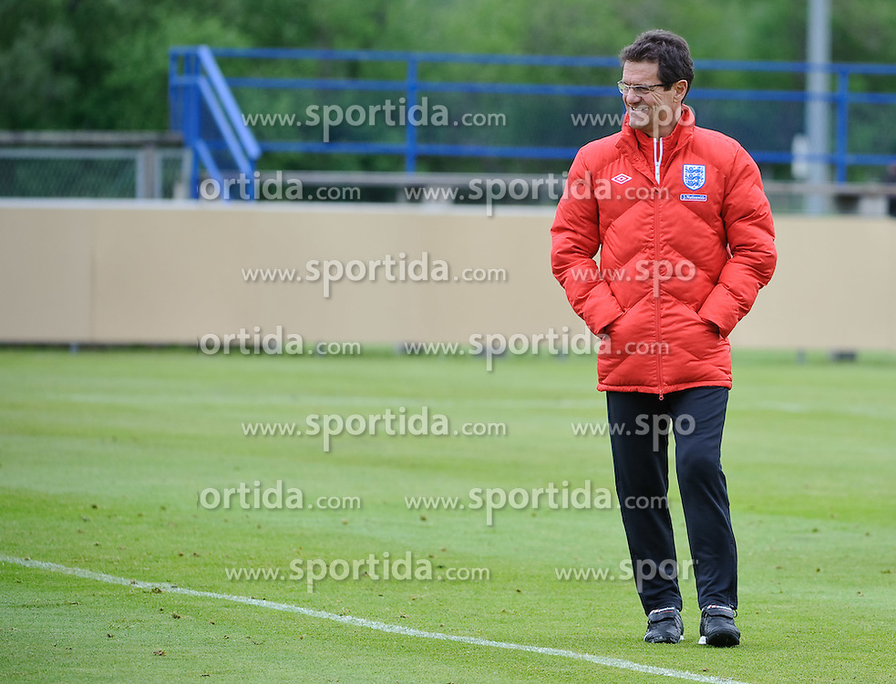 19.05.2010, Arena, Irdning, AUT, FIFA Worldcup Vorbereitung, Training England, im Bild Fabio Capello, Teamchef England, EXPA Pictures © 2010, PhotoCredit: EXPA/ S. Zangrando / SPORTIDA PHOTO AGENCY