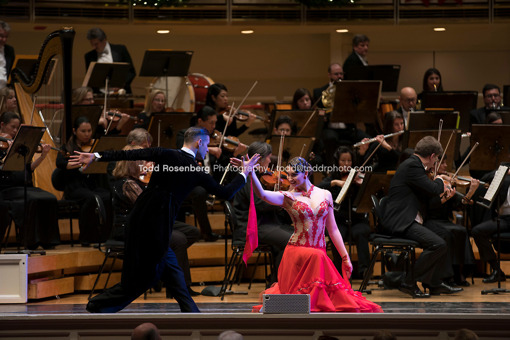 12/30/17 3:01:17 PM -- Chicago, IL, USA<br /> Attila Glatz Concert Productions' &quot;A Salute to Vienna&quot; at Orchestra Hall in Symphony Center. Featuring the Chicago Philharmonic <br /> <br /> &copy; Todd Rosenberg Photography 2017