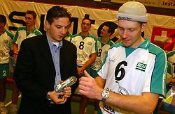 12-12-2002 NED: Selectie SSS seizoen 2002-2003, Barneveld<br /> Training SSS Barneveld en Sponsor