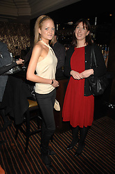 Left to right, LADY ELOISE ANSON and SAMANTHA CAMERON wife of David Cameron MP leader of the Conservative party at a lunch hosted by Ralph Lauren to present their Spring 2007 collection in support of the Serpentine Gallery's Education Programme, held at Fifty, 50 St.James's Street, London SW1 on 20th March 2007.<br />