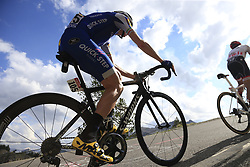 Dan Martin (IRL) Quick-Step Floors climbs through the Caisse Deserte on Col d'Izoard during Stage 18 of the 104th edition of the Tour de France 2017, running 179.5km from Briancon to the summit of Col d'Izoard, France. 20th July 2017.<br /> Picture: Eoin Clarke | Cyclefile<br /> <br /> All photos usage must carry mandatory copyright credit (© Cyclefile | Eoin Clarke)