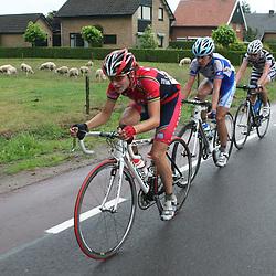 Sportfoto archief 2006-2010<br /> 2008<br /> Marianne Vos, Mirjam Melchers, Regina Bruins NK wielrennen Ootmarsum