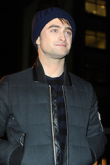 NOV 21 2013 Daniel Radcliffe-Kill Your Darlings Cut Up Art Exhibition