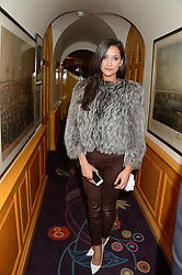ROXIE NAFOUSI at Tatler Magazine's Little Black Book Party held at Annabel's, Berkeley Square, London on 5th November 2013.