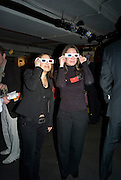 CORINNE DELANY AND KATIE BREEZE, The launch of Your Game 2008. Swiss Ambassador's Residence car park. Bryanston Sq. London. W1. 28 February 2008.  *** Local Caption *** -DO NOT ARCHIVE-© Copyright Photograph by Dafydd Jones. 248 Clapham Rd. London SW9 0PZ. Tel 0207 820 0771. www.dafjones.com.