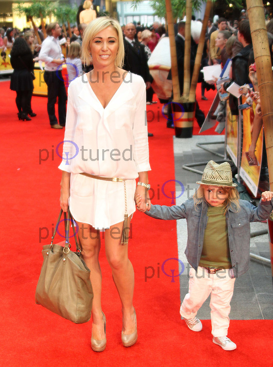 Jenny Frost Kung Fu Panda 2 UK Premiere, Westfield Shopping Centre, West London, UK, 05 June 2011:  Contact: Rich@Piqtured.com +44(0)7941 079620 (Picture by Richard Goldschmidt)