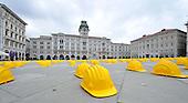 2013/04/11 Trieste, protesta dei caschetti.