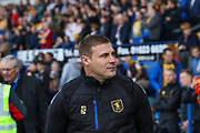 David Flitcroft during the EFL Sky Bet League 2 second leg Play Off match between Mansfield Town and Newport County at the One Call Stadium, Mansfield, England on 12 May 2019.