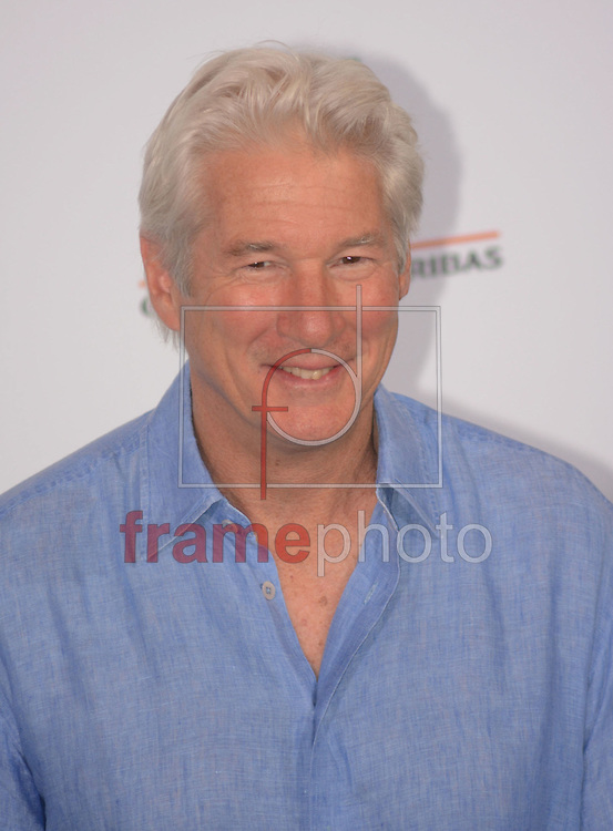 Richard Gere durante a seção de fotos do Time Out Of Mind , neste domingo (19/10) na cidade de Roma, Itália. Foto: Wenn/FRAME