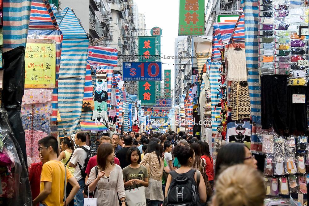 Asia, Southeast, People's Republic of China, Hong Kong, Street market