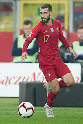 October 11, 2018 - Chorzow, Poland - Rafa Silva (POR) during the UEFA Nations League A group three match between Poland and Portugal at Silesian Stadium on October 11, 2018 in Chorzow, Poland. (Credit Image: © Foto Olimpik/NurPhoto via ZUMA Press)
