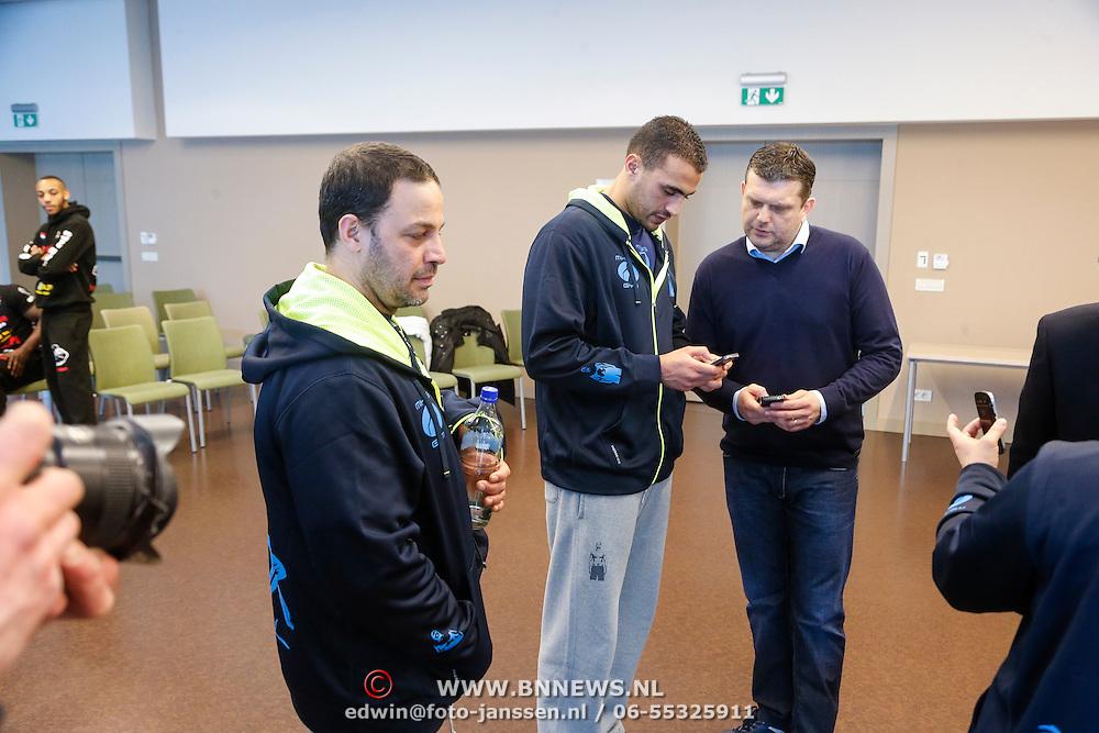 CRO/Zagreb/20130314- K1 WGP Final Zagreb, weging vd deelnemers, Badr Hari