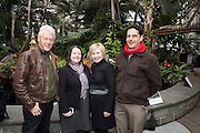 The Clintons visit the New York Botanical Gardens on December 26, 2016 in The Bronx. (Photo by Ben Hider)