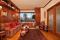 Living Room at 167 East 61st Street