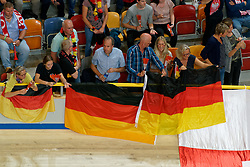 23-09-2019 NED: EC Volleyball 2019 Poland - Germany, Apeldoorn<br /> 1/4 final EC Volleyball - Poland win 3-0 / Support Germany