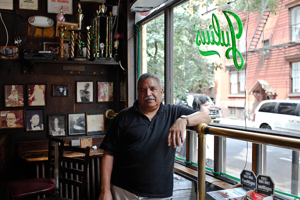 "David Montalvo, Manager ""Julius"" bar, the oldest gay bar and Greewich village's oldest bar. New York"
