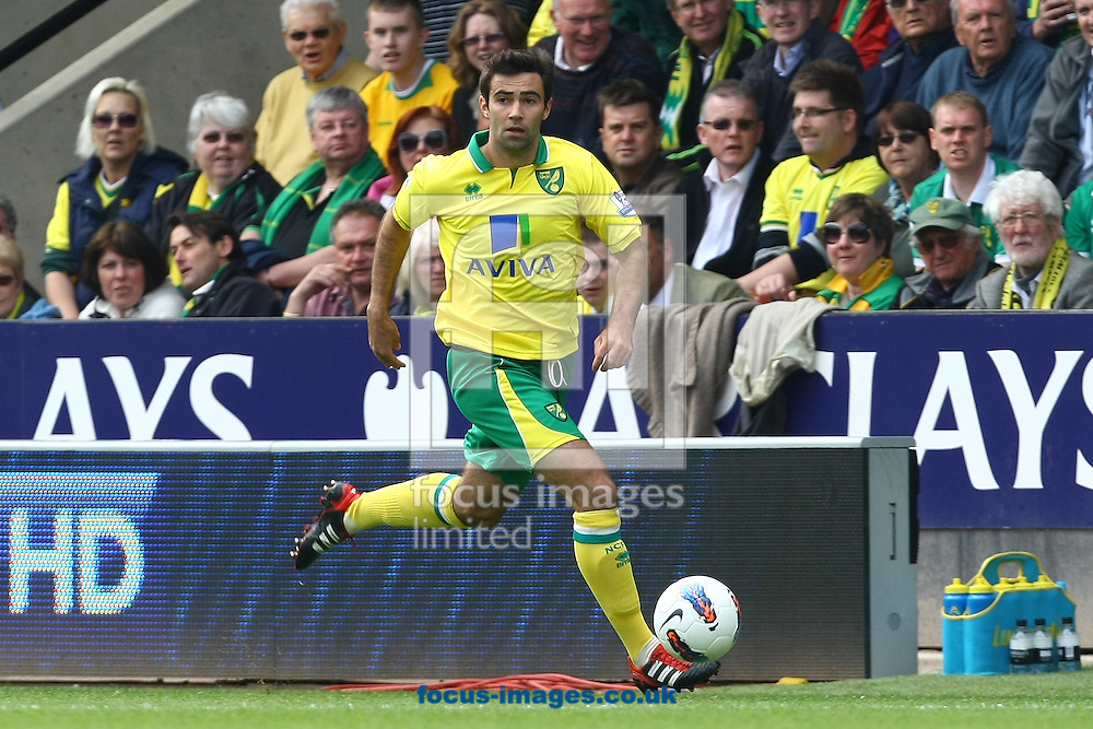 Picture by Paul Chesterton/Focus Images Ltd.  07904 640267.13/05/12.Simon Lappin of Norwich in action during the Barclays Premier League match at Carrow Road Stadium, Norwich.