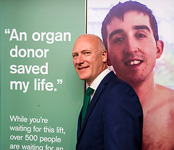 Pictured: Joe FitzPatrick<br /> <br /> Organ Donation Week marked. Public Health Minister Joe FitzPatrick met with Kathryn Hand, who underwent life-changing islet cell transplantation, at the Royal Infirmary, Edinburgh, today to mark Organ Donation Week. Mr FitzPatrick was ahown around by Mr John Casey, Clinical advisor for organ transplantation<br /> <br /> Ger Harley: 3 September 2018